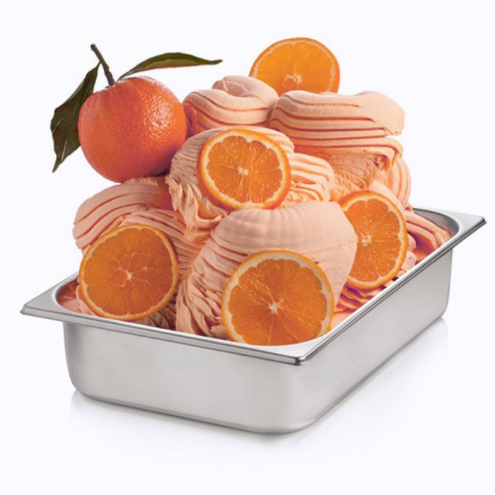 Gelq.it | RED ORANGE PASTE Rubicone | Italian gelato ingredients | Buy online | Fruit ice cream pastes
