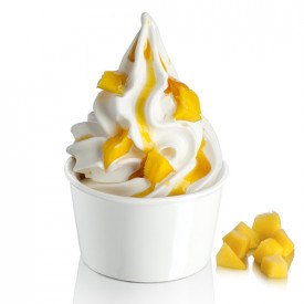 Gelq.it | TOPPING MANGO Rubicone | Italian gelato ingredients | Buy online | Topping sauces
