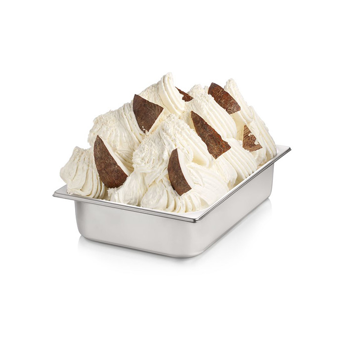 Gelq.it | PINACOLADA COCKTAIL PASTE NO SEEDS Rubicone | Italian gelato ingredients | Buy online | Fruit ice cream pastes
