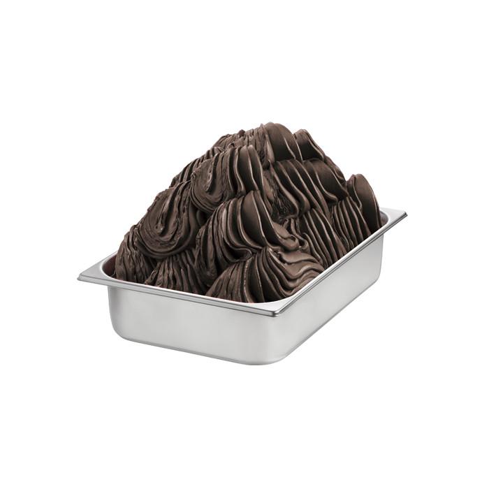 Prodotti per gelateria | Acquista online su Gelq.it | BASE CHOCOLATE EXTRA DARK di Rubicone. Basi gelato al cioccolato.