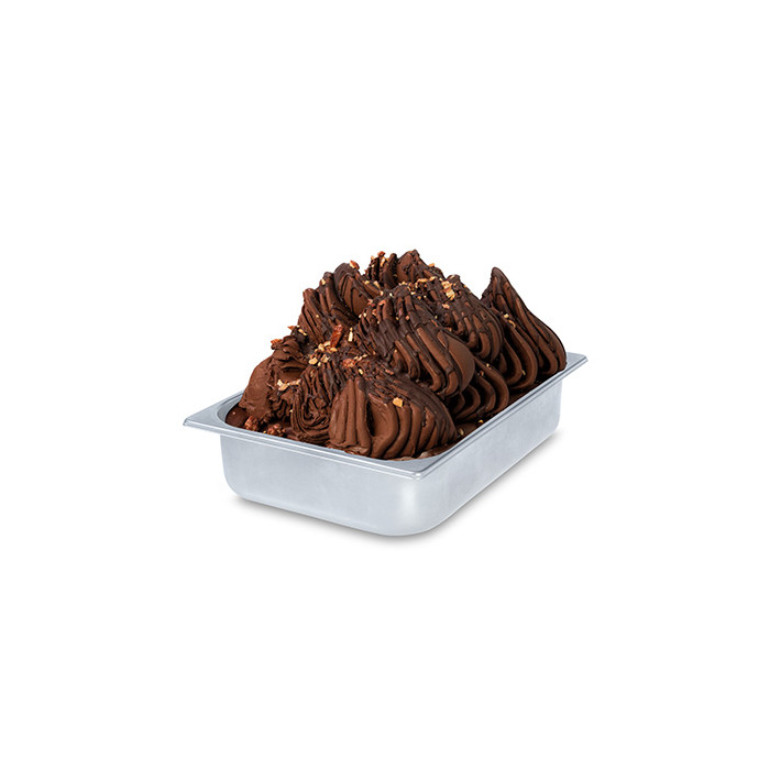 Gelq.it | SPICY CHOCOLATE BASE Rubicone | Italian gelato ingredients | Buy online | Chocolate ice cream bases