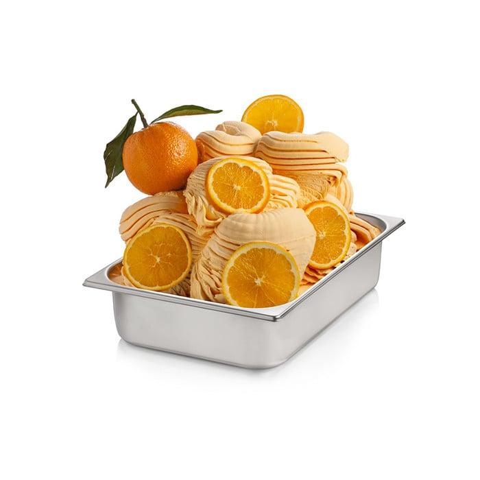 Prodotti per gelateria   Acquista online su Gelq.it   BASE PRONTO ARANCIA di Rubicone. Basi complete gelato frutta.