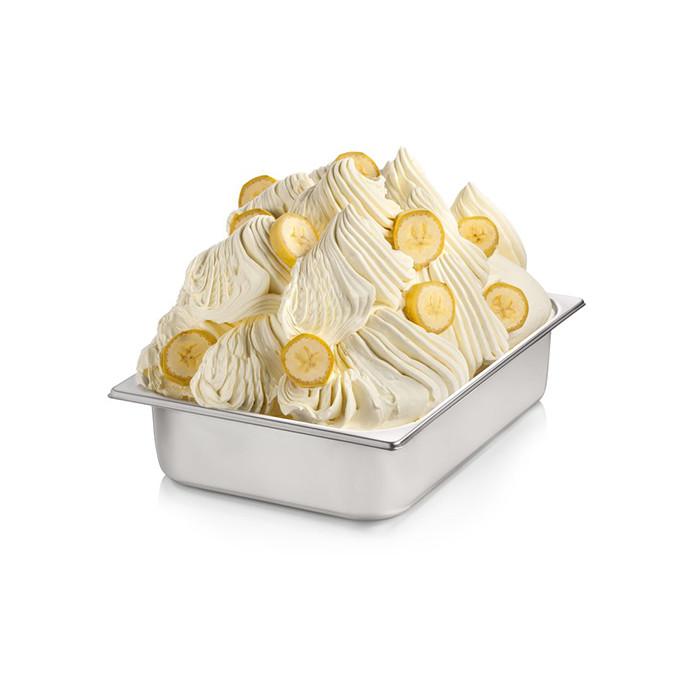 Prodotti per gelateria   Acquista online su Gelq.it   BASE PRONTO BANANA di Rubicone. Basi complete gelato frutta.
