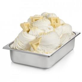 Prodotti per gelateria | Acquista online su Gelq.it | BASE PRONTO CIOCCOLATO BIANCO di Rubicone. Basi complete gelati creme.