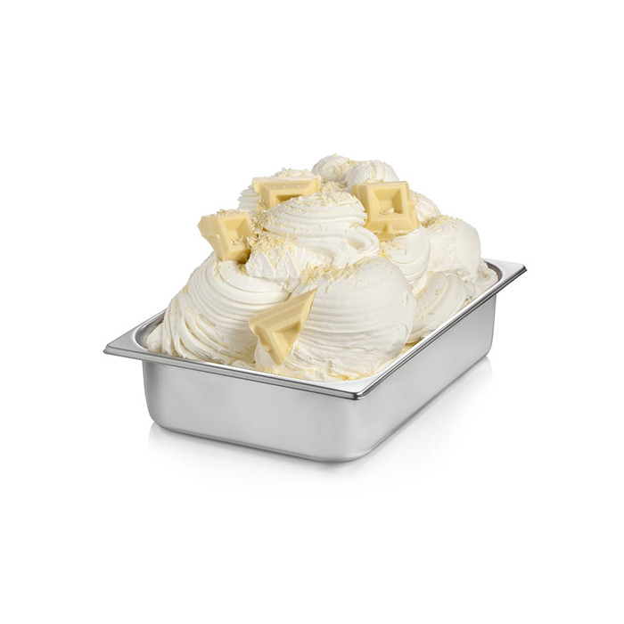 Gelq.it | BASE READY WHITE CHOCOLATE Rubicone | Italian gelato ingredients | Buy online | Complete ice cream white bases