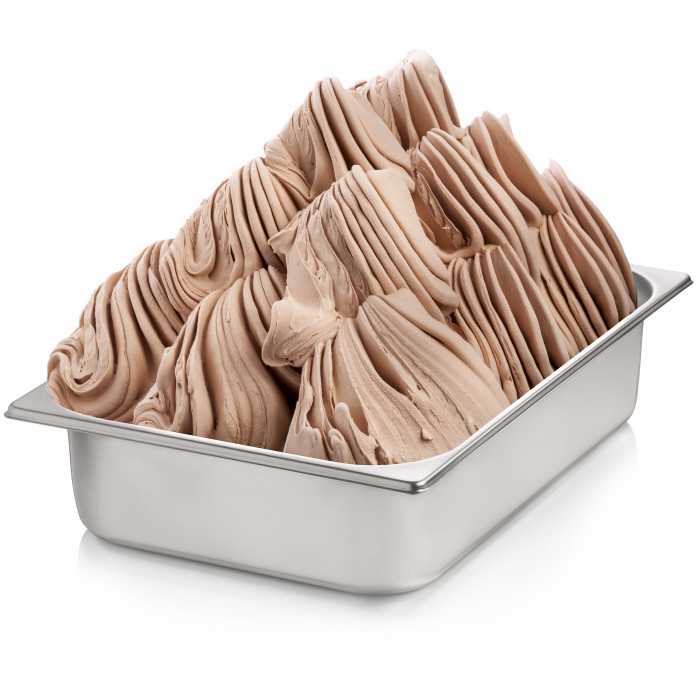 Gelq.it | GIANDUIA READY BASE Rubicone | Italian gelato ingredients | Buy online | Complete ice cream white bases