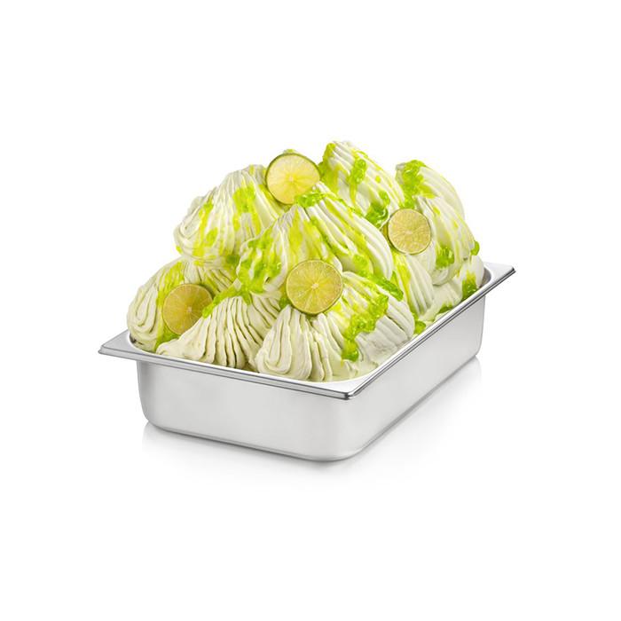Prodotti per gelateria | Acquista online su Gelq.it | BASE PRONTO LIME di Rubicone. Basi complete gelato frutta.