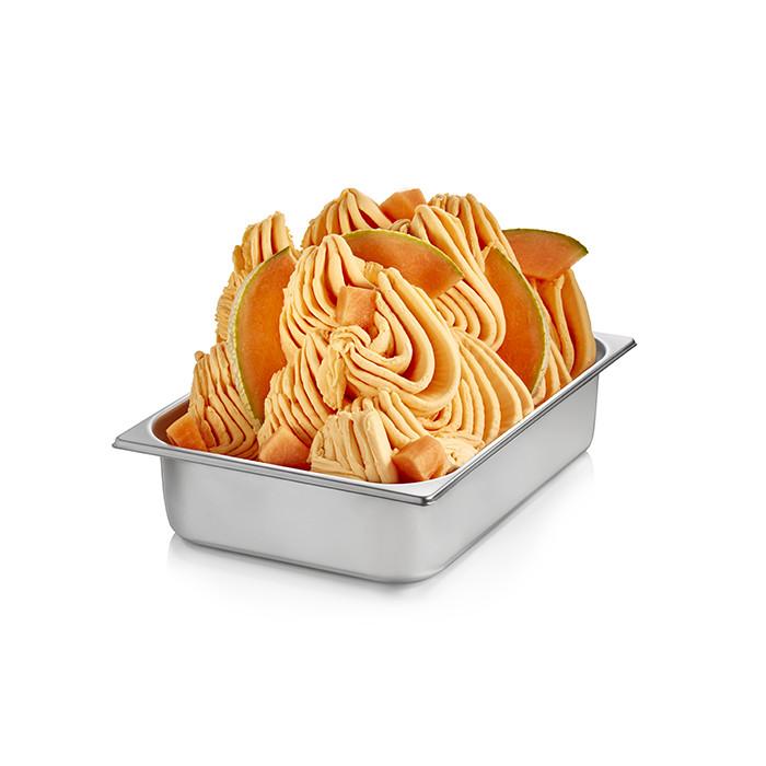 Prodotti per gelateria | Acquista online su Gelq.it | BASE PRONTO MELONE di Rubicone. Basi complete gelato frutta.