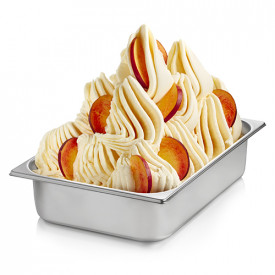 Gelq.it | YELLOW PEACH READY BASE Rubicone | Italian gelato ingredients | Buy online | Complete fruit ice cream bases