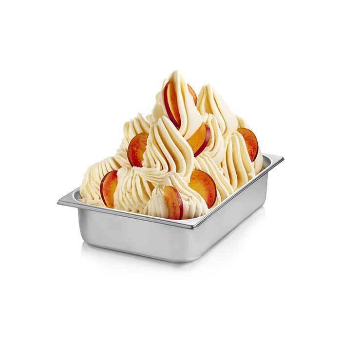 Prodotti per gelateria | Acquista online su Gelq.it | BASE PRONTO PESCA GIALLA di Rubicone. Basi complete gelato frutta.