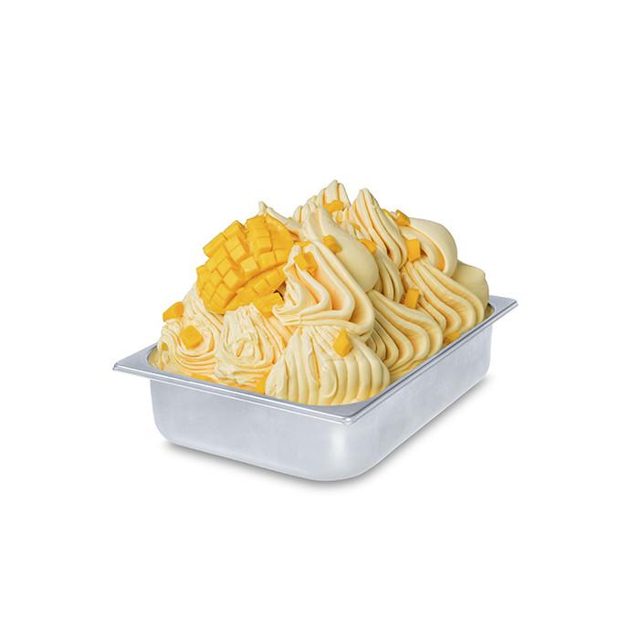 Prodotti per gelateria | Acquista online su Gelq.it | BASE PRONTO MANGO di Rubicone. Basi complete gelato frutta.