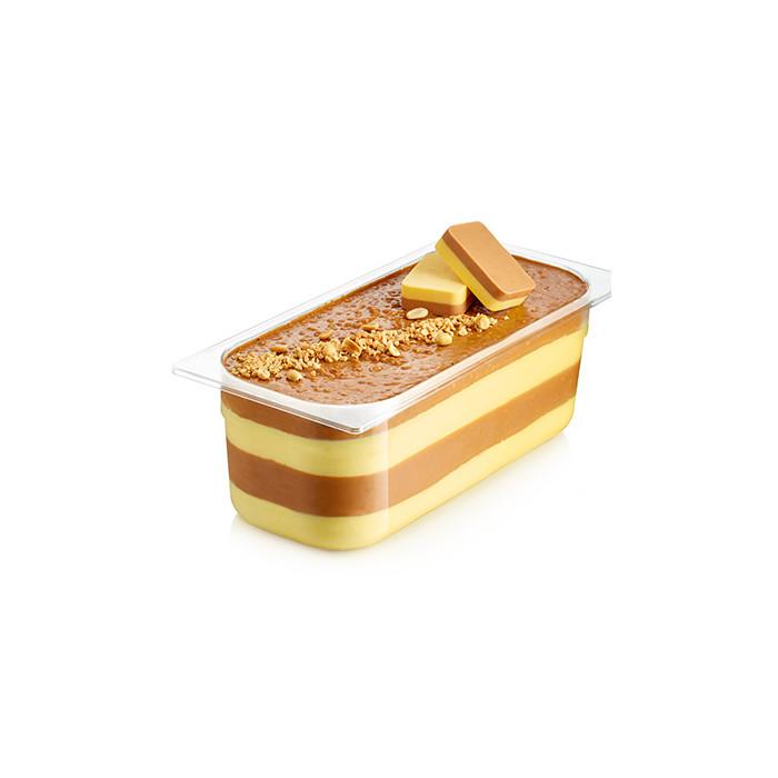 Italian gelato ingredients | Ice cream products | Buy online | CARAMEL CREMINO WITH PEANUTS Rubicone on Cremino