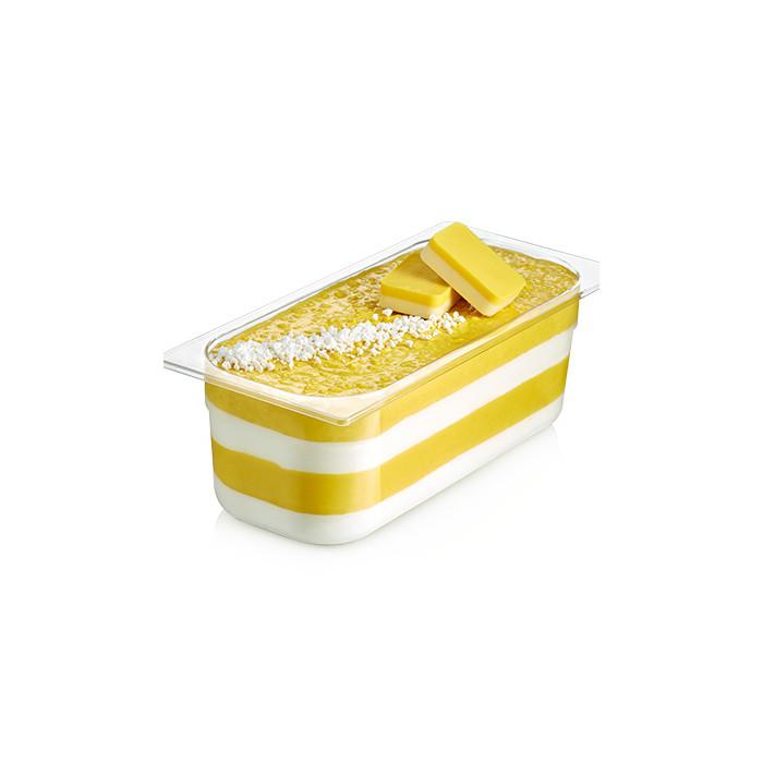 Gelq.it   LEMON AND MERINGUE CREMINO Rubicone   Italian gelato ingredients   Buy online   Cremino