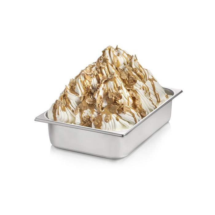 Italian gelato ingredients | Ice cream products | Buy online | NUTFLAKES CREAM Rubicone on Crunchy cream