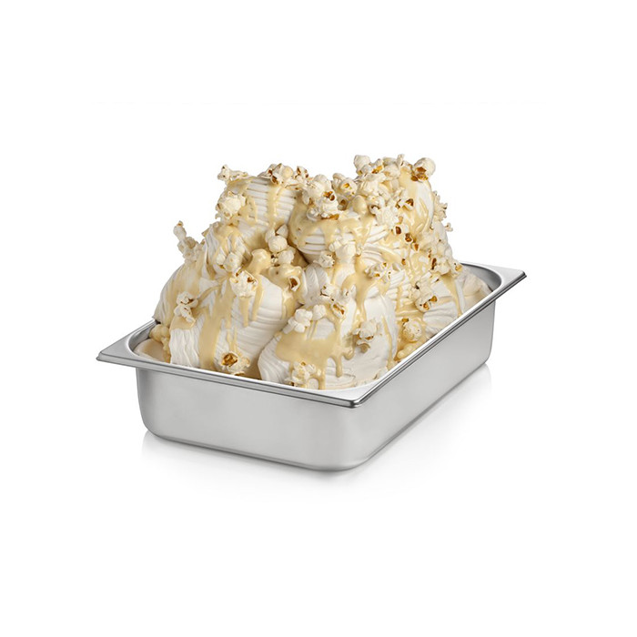 Italian gelato ingredients | Ice cream products | Buy online | POPCORN CREAM Rubicone on Crunchy cream
