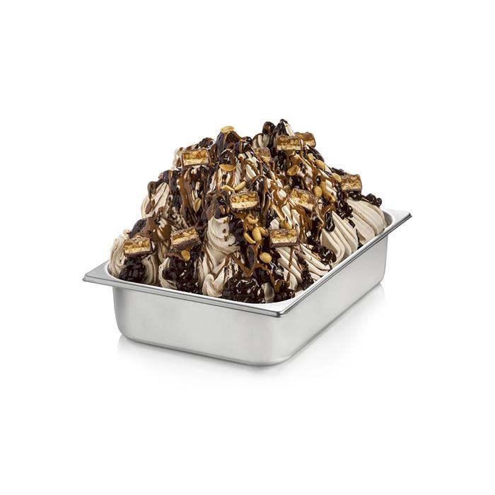 Italian gelato ingredients   Ice cream products   Buy online   PRALINE CREAM Rubicone on Crunchy cream