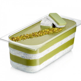 Gelq.it | PISTACHIO CREMINO WITH GRAIN Rubicone | Italian gelato ingredients | Buy online | Cremino