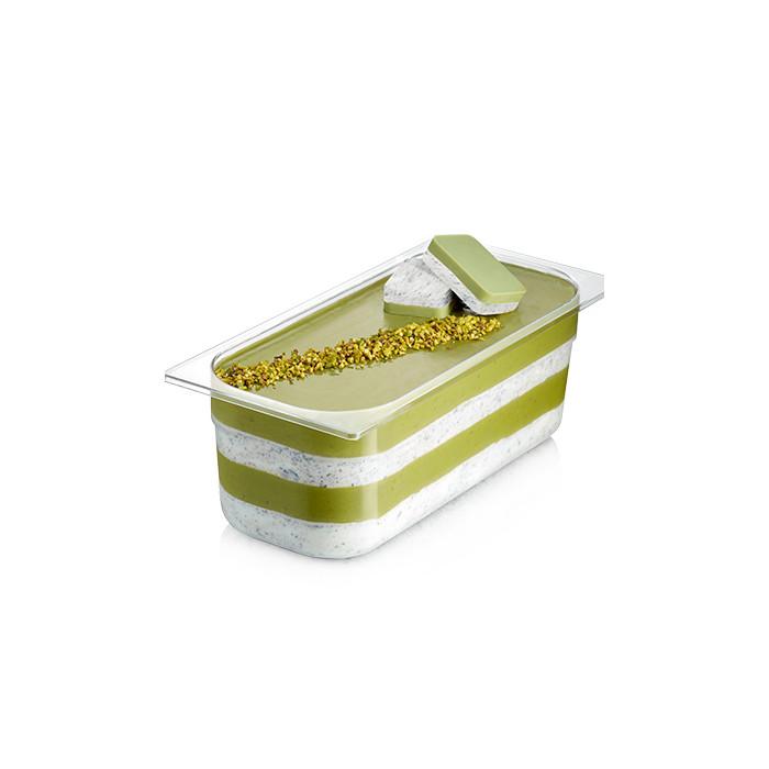 Prodotti per gelateria | Acquista online su Gelq.it | CREMINO PISTACCHIO CON GRANELLA di Rubicone. Cremini per gelato.