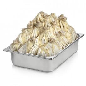 Italian gelato ingredients   Ice cream products   Buy online   RUBILELLO CREAM (COCONUT WHITE CHOCOLATE) Rubicone on Crunchy cre