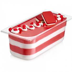 Gelq.it   RED VELVET CREMINO WITH GRAIN Rubicone   Italian gelato ingredients   Buy online   Cremino