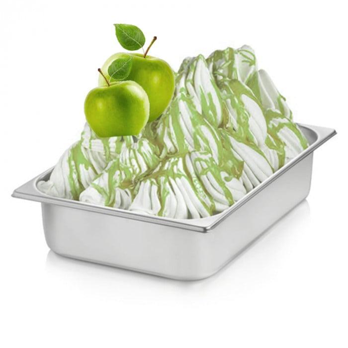 Italian gelato ingredients   Ice cream products   Buy online   GREEN APPLE CREAM Rubicone on Fruit ripples