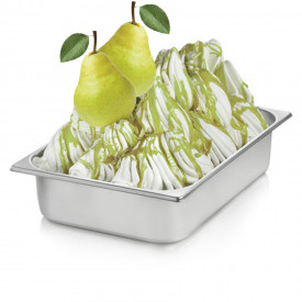 Italian gelato ingredients | Ice cream products | Buy online | PEAR CREAM Rubicone on Fruit ripples