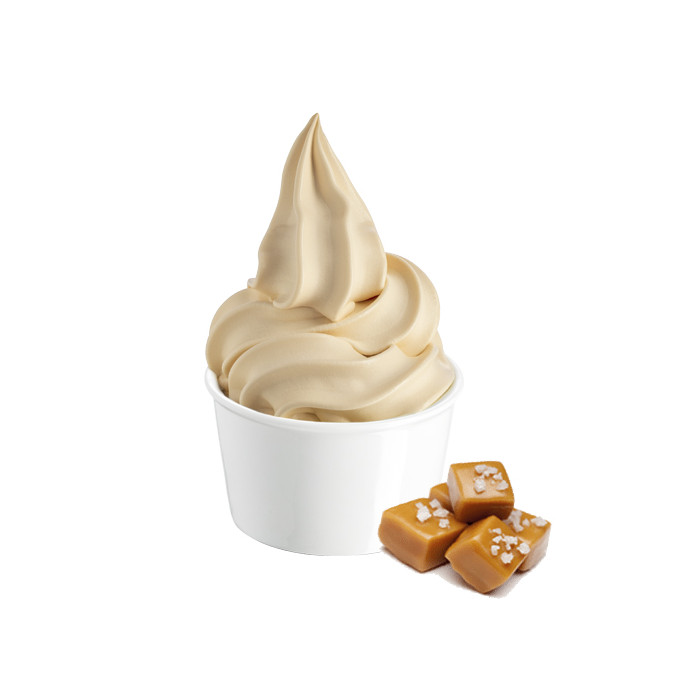 Gelq.it | BASE SOFT PAN CARAMEL Rubicone | Italian gelato ingredients | Buy online | Soft serve ice cream bases