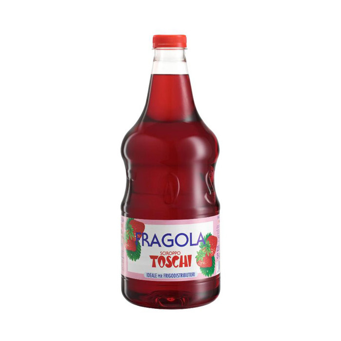 Gelq.it | STRAWBERRY SYRUP Toschi Vignola | Italian gelato ingredients | Buy online | Syrups