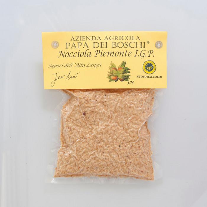 Prodotti per gelateria | Acquista online su Gelq.it | FARINA DI NOCCIOLA TOSTATA IGP PIEMONTE di Papa dei Boschi. Frutta secca p