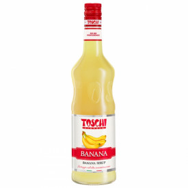 Gelq.it | BANANA SYRUP Toschi Vignola | Italian gelato ingredients | Buy online | Syrups