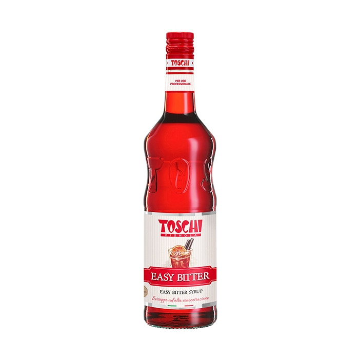 Gelq.it | EASY BITTER SYRUP Toschi Vignola | Italian gelato ingredients | Buy online | Syrups