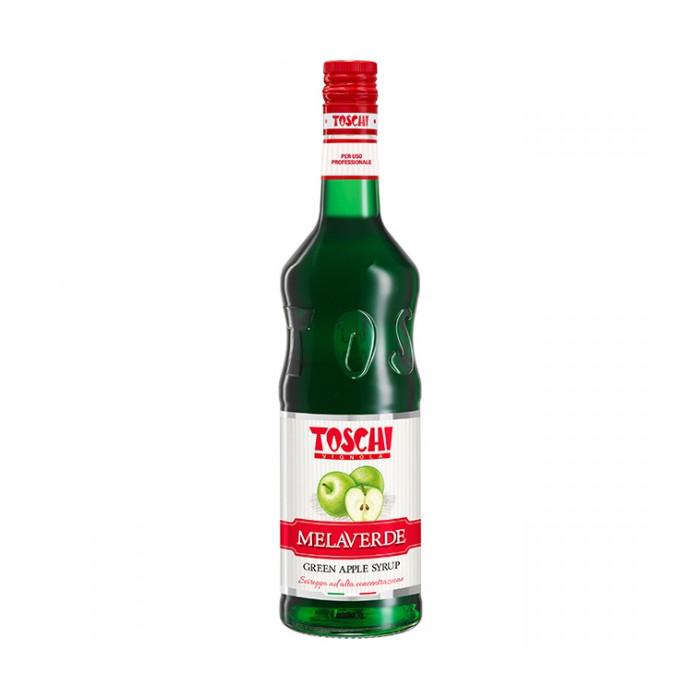Gelq.it | SYRUP GREEN APPLE Toschi Vignola | Italian gelato ingredients | Buy online | Syrups