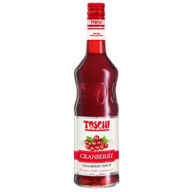 Gelq.it | CRANBERRY SYRUP Toschi Vignola | Italian gelato ingredients | Buy online | Syrups