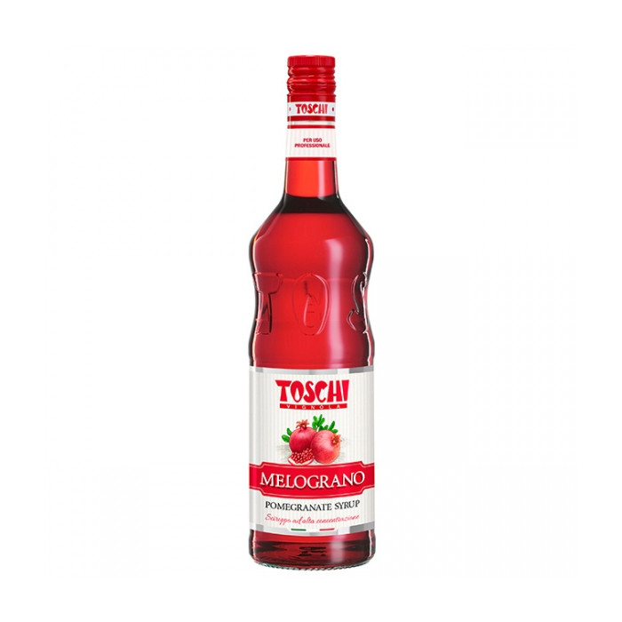 Gelq.it | POMEGRANATE SYRUP Toschi Vignola | Italian gelato ingredients | Buy online | Syrups