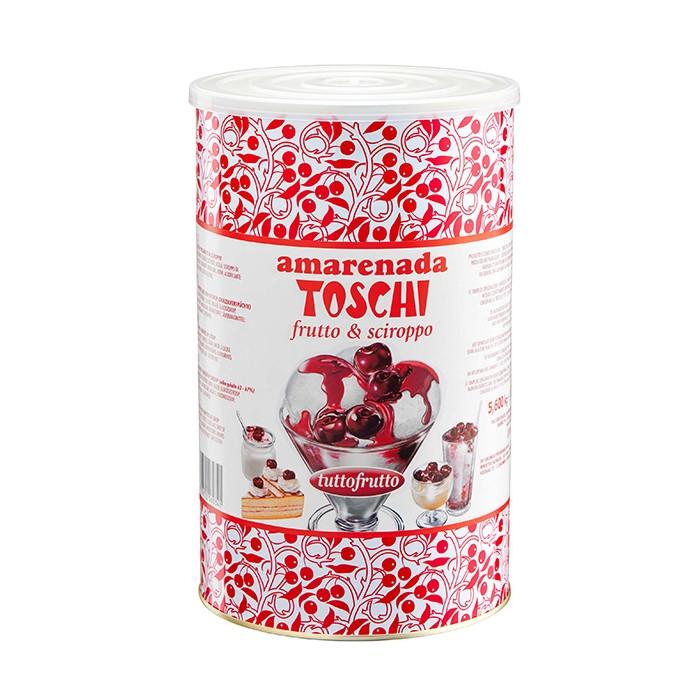 Prodotti per gelateria | Acquista online su Gelq.it | AMARENADA TUTTOFRUTTO 20/22 (4 X 5,6 KG) di Toschi Vignola. Variegati Frut