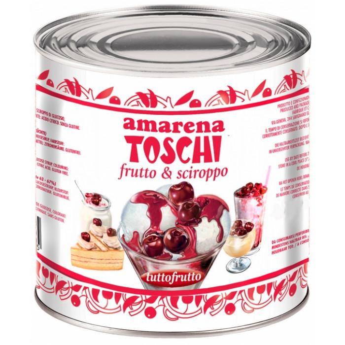 "Italian gelato ingredients | Ice cream products | Buy online | SOUR CHERRY ""TUTTOFRUTTO"" 16/18 (2 X 3.2 KG) Toschi Vignola on Fr"
