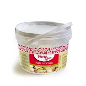 Gelq.it   PISTACHIO PASTE OF THE KINGDOM Toschi Vignola   Italian gelato ingredients   Buy online   Nuts ice cream pastes