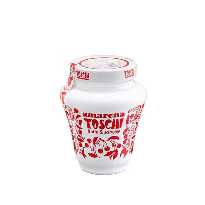 Italian gelato ingredients | Ice cream products | Buy online | SOUR CHERRY 16/18 (JAR) Toschi Vignola on Fruit ripples