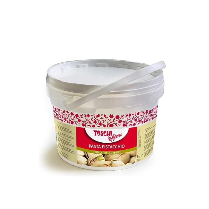 Gelq.it | PISTACHIO PASTE Toschi Vignola | Italian gelato ingredients | Buy online | Nuts ice cream pastes