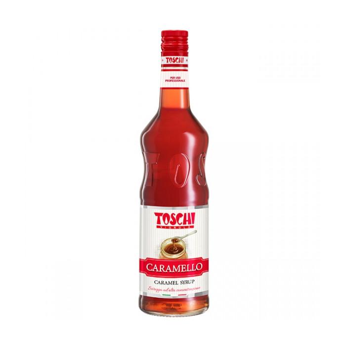 Gelq.it | CARAMEL SYRUP Toschi Vignola | Italian gelato ingredients | Buy online | Syrups