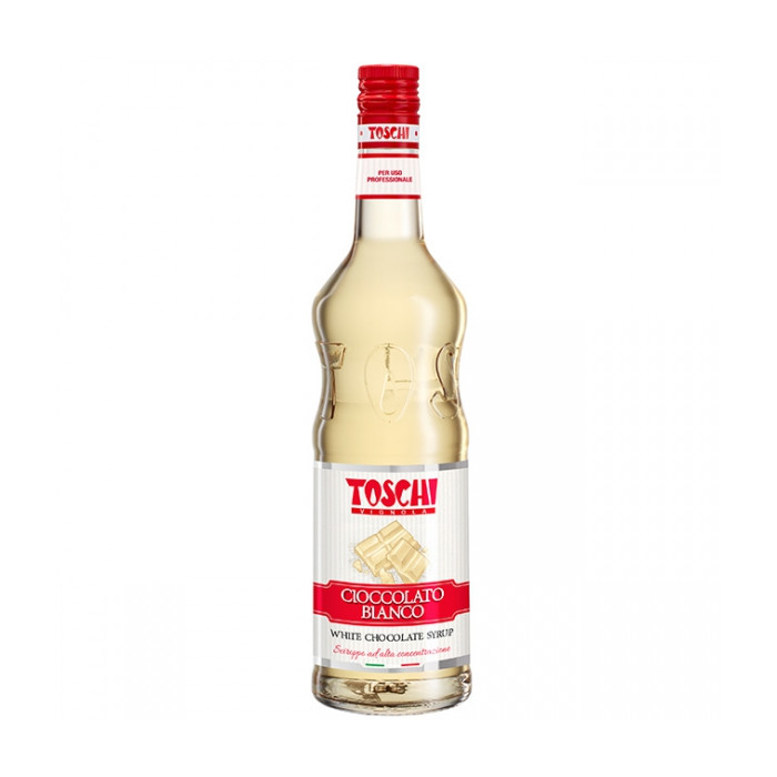 Gelq.it | WHITE CHOCOLATE SYRUP Toschi Vignola | Italian gelato ingredients | Buy online | Syrups