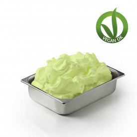 Gelq.it | SOY BASE GREEN APPLE WITH FRUCTOSE Leagel | Italian gelato ingredients | Buy online | Complete fruit ice cream bases