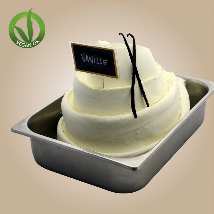 Italian gelato ingredients | Ice cream products | Buy online | RICE & VANILLA BASE Leagel on Complete cream bases