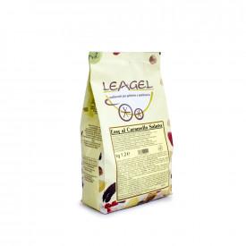 Prodotti per gelateria | Acquista online su Gelq.it | BASE EASY AL CARAMELLO SALATO di Leagel. Basi complete gelati creme.