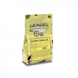 Gelq.it | BASE EASY GREEN APPLE Leagel | Italian gelato ingredients | Buy online | Complete fruit ice cream bases