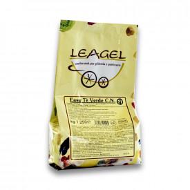 Gelq.it | BASE EASY GREEN TEA Leagel | Italian gelato ingredients | Buy online | Complete fruit ice cream bases
