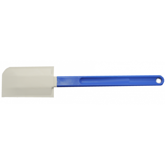 Gelq.it | BLUE PLASTIC/SILICONE SPATULA Gelq Accessories | Italian gelato ingredients | Buy online | Gelato lab accessories