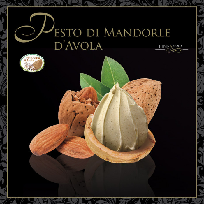 Prodotti per gelateria | Acquista online su Gelq.it | PESTO DI MANDORLE DI AVOLA - LINEA GOLD di Leagel. Paste grasse.
