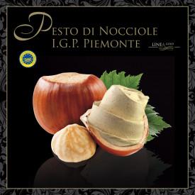 Prodotti per gelateria | Acquista online su Gelq.it | PESTO DI NOCCIOLA PIEMONTE IGP - LINEA GOLD di Leagel. Paste grasse.