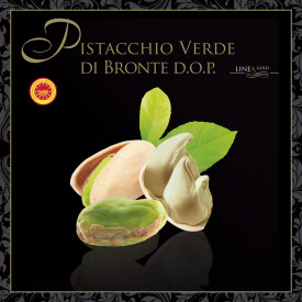 PURE PISTACHIO PASTE 100% PISTACHIO GREEN OF BRONTE DOP-GOLD LINE
